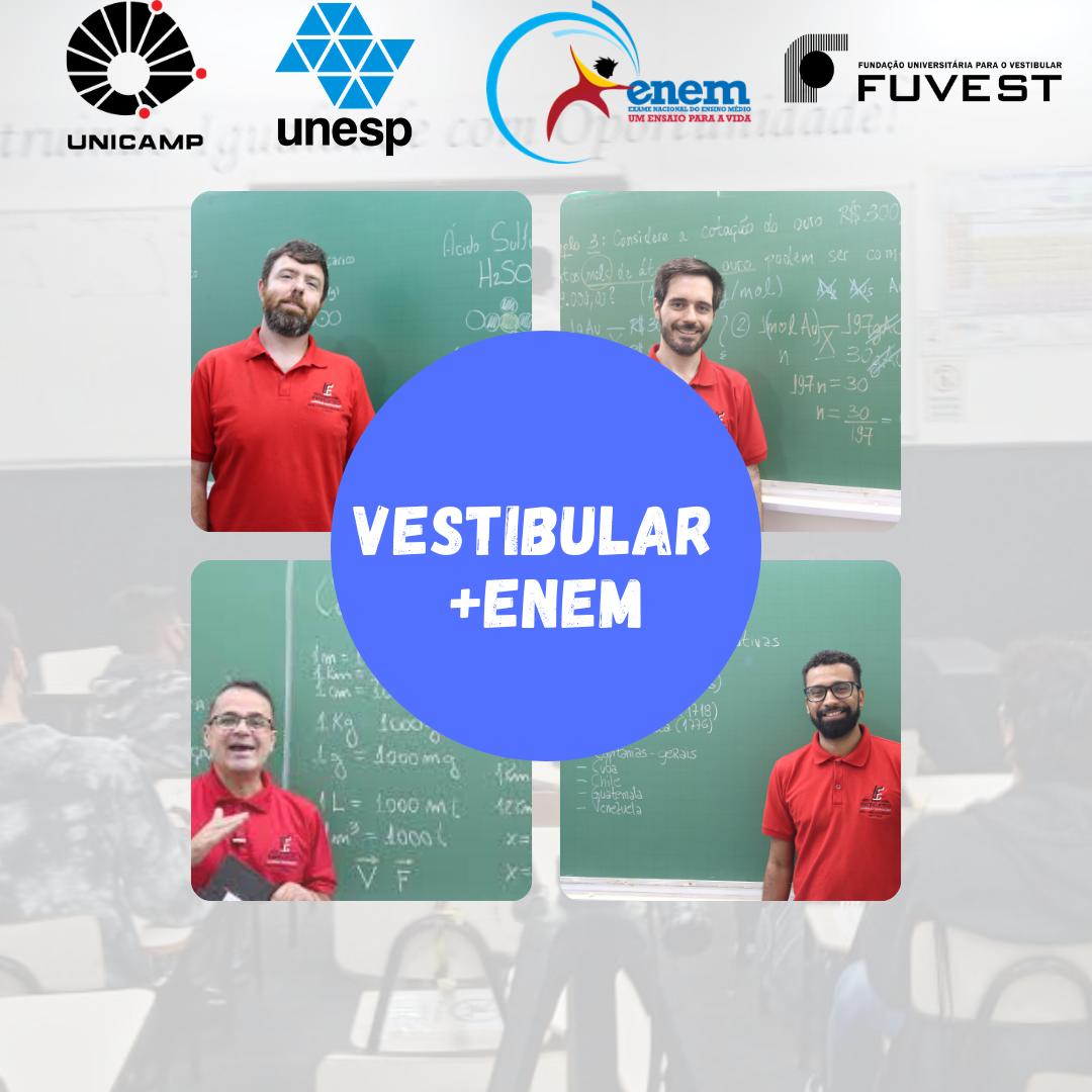 VESTIBULAR + ENEM - EXTENSIVO 2021